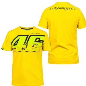 V. ROSSI NO 46 MENS YELLOW TSHIRT 2016
