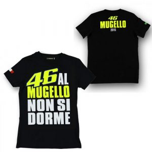 VALENTINO ROSSI LADIES MUGELLO T-SHIRT 2015