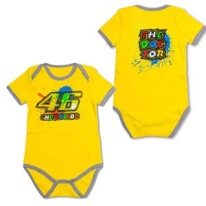 V. ROSSI 46 YELLOW BABY ROMPER 2016