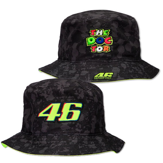 8cb0993a9ef VALENTINO ROSSI 46 THE DOCTOR BUCKET HAT