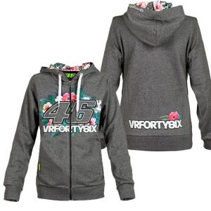 VALENTINO ROSSI WOMENS NO 46 FLORAL HOODIE 2016
