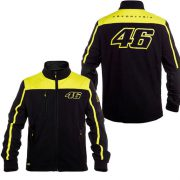 VALENTINO ROSSI 46 MENS BLACK YELLOW JACKET 2016