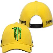VALENTINO ROSSI 46 MONSTER YELLOW CAP 2016