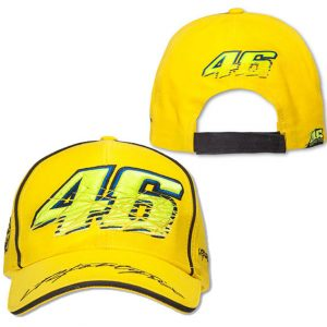 VALENTINO ROSSI NO 46 YELLOW CAP 2016