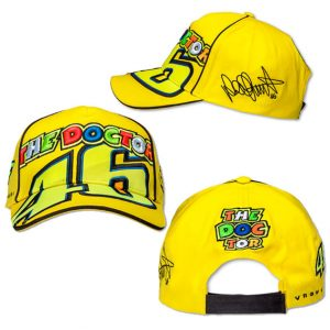 VALENTINO ROSSI THE DOCTOR 46 CAP YELLOW 2016