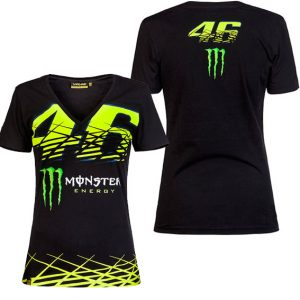 VALENTINO ROSSI WOMENS 46 MONSTER TSHIRT 2016