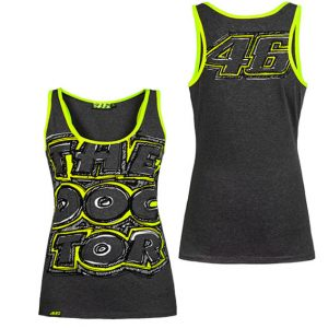 VALENTINO ROSSI WOMENS THE DOCTOR SINGLET 2016
