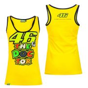 VALENTINO ROSSI WOMENS THE DOCTOR SINGLET YELLOW 2016