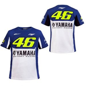 VALENTINO ROSSI VR46 M1 YAMAHA FACTORY RACING TEAM TSHIRT 2016