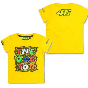 VALENTINO ROSSI KIDS THE DOCTOR YELLOW TSHIRT 2016
