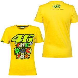 VALENTINO ROSSI WOMENS THE DOCTOR TSHIRT 2016