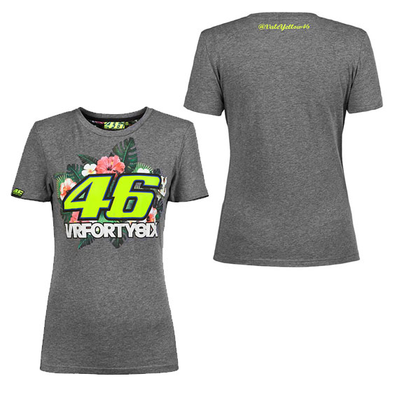 VALENTINO ROSSI WOMENS FLORAL SHIRT 2016 2a2cd44ceb9c4