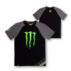 VALENTINO ROSSI MENS RAGLAN MONSTER T-SHIRT 2015