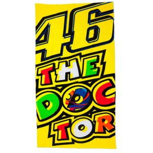 VALENTINO_ROSSI_BEACH_TOWEL_THEDOCTOR_2017