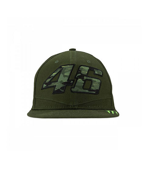 MOMCA317308_VALENTINO_ROSSI_ADULTS_MONSTER_FLAT_PEAK_CAP