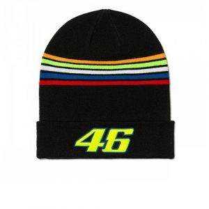 VRMBE305104_VALENTINO_ROSSI_ADULTS_46_THE_DOCTOR_BEANIE_BLACK