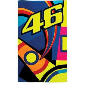 VRUBT309903_VALENTINO_ROSSI_SUN_AND_MOON_HELMET_BEACH_TOWEL