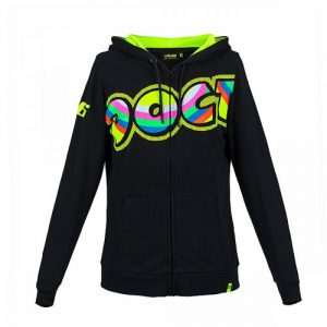 VRWFL307504_VALENTINO_ROSSI_LADIES_THE_DOCTOR_46_HOODIE_BLACK