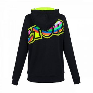 VRWFL307504_VALENTINO_ROSSI_LADIES_THE_DOCTOR_46_HOODIE_BLACK_BV