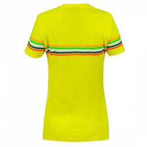 VRWTS307001_VALENTINO_ROSSI_LADIES_THE_DOCTOR_46_TSHIRT_YELLOW_BV