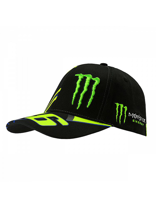 MOMCA358504_MONSTER VR46 MONSTER 46 REPLICA CAP MENS