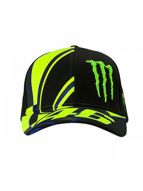 MOMCA358504_MONSTER VR46 MONSTER 46 REPLICA CAP MENS_FV