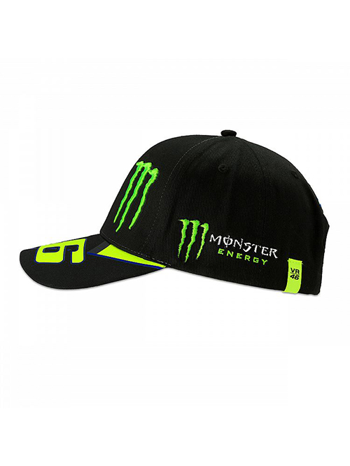 MOMCA358504_MONSTER VR46 MONSTER 46 REPLICA CAP MENS_SV