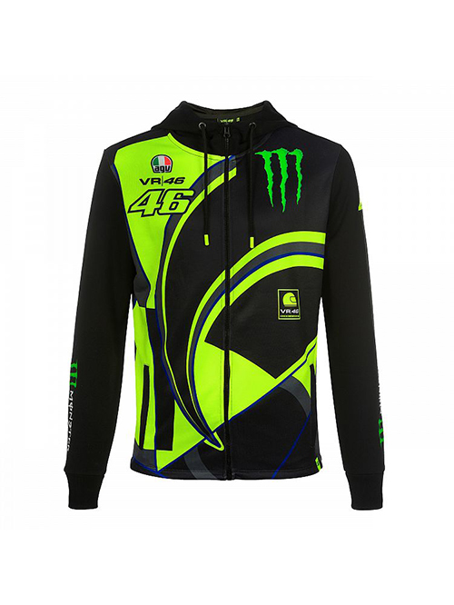 MOMFL358404001_MONSTER VR46 MONSTER 46 REPLICA FLEECE MENS
