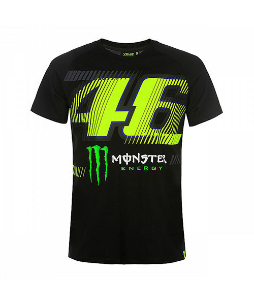 MOMTS358604001_MONSTER VR46 MONZA 46 MONSTER T-SHIRT MENS