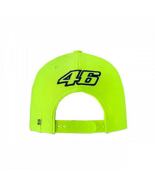 VRKCA353328_VR46 CLASSIC-46 THE DOCTOR 19 CAP KID FLURO YELLOW_BV