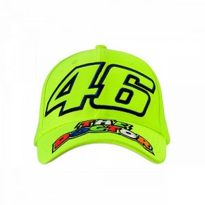 VRKCA353328_VR46 CLASSIC-46 THE DOCTOR 19 CAP KID FLURO YELLOW_FV