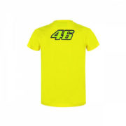 VRKTS353401001_VR46 CLASSIC-46 THE DOCTOR 19 TSHIRT KID YELLOW_BV