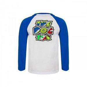 VRKTS353606001_VR46 CLASSIC-POP ART 19 TSHIRT KID WHITE_BV
