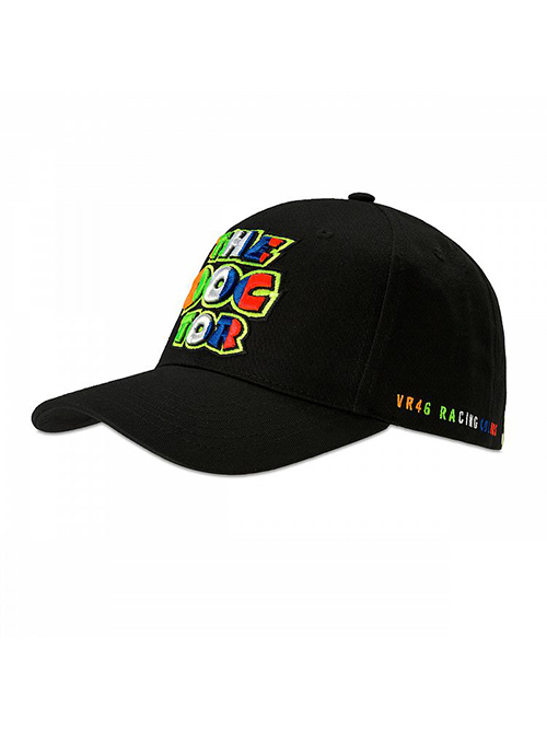 VRMCA350004_VR46 CLASSIC-STRIPES 19 CAP MAN BLACK