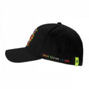 VRMCA350004_VR46 CLASSIC-STRIPES 19 CAP MAN BLACK_LHS