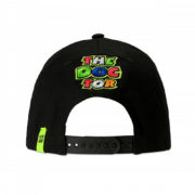 VRMCA350204_VR46 CLASSIC-STRIPES 19 CAP MAN BLACK_BV