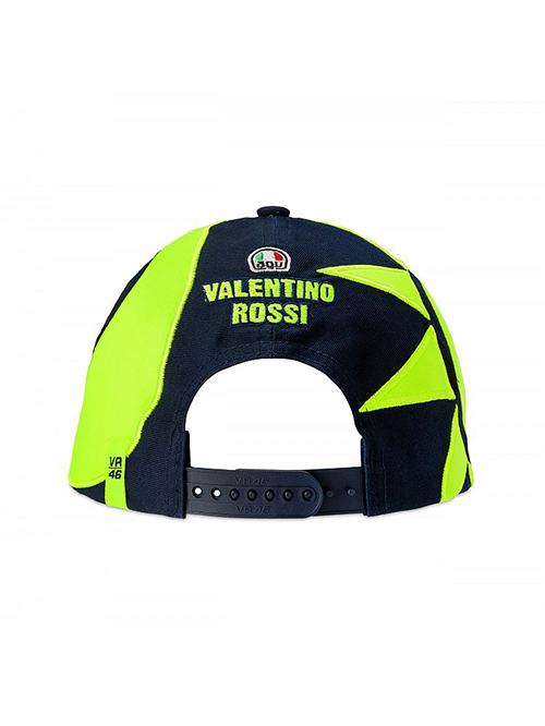 VRMCA350702_VR46 CLASSIC-SOLE E LUNA 19 CAP MAN BLUE_BV