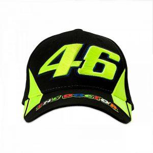 VRMCA351204_VR46 CLASSIC-RACE 19 CAP MAN BLACK_FV