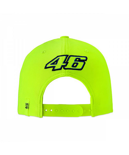 VRMCA351428_VR46 CLASSIC-46 THE DOCTOR 19 CAP MAN FLURO YELLOW_BV