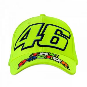 VRMCA351428_VR46 CLASSIC-46 THE DOCTOR 19 CAP MAN FLURO YELLOW_FV