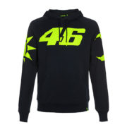 VRMFL351002_VR46 CLASSIC-SOLE E LUNA 19 FLEECE MAN BLUE