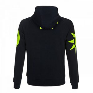 VRMFL351002_VR46 CLASSIC-SOLE E LUNA 19 FLEECE MAN BLUE_BV