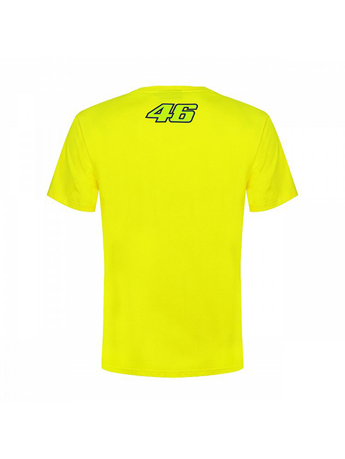 VRMTS351501_VR46 CLASSIC-46 THE DOCTOR 19 TSHIRT MAN YELLOW_BV