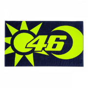 VRUBT354703_VR46 CLASSIC-SOLE E LUNA 19 BEACH TOWEL UNISEX MULTI