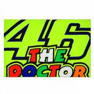 VRUFG355303_VR46 CLASSIC-46 THE DOCTOR 19 FLAG UNISEX MULTI