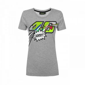 VRWTS352205001_VR46 CLASSIC-POP ART 19 TSHIRT WOMAN MEL
