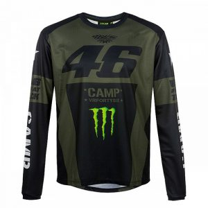 CAMTS359908001_VR46 MONSTER CAMP LONG SLEEVE T-SHIRT MENS