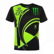 MOMTS358304001_MONSTER VR46 MONSTER 46 REPLICA T-SHIRT MENS