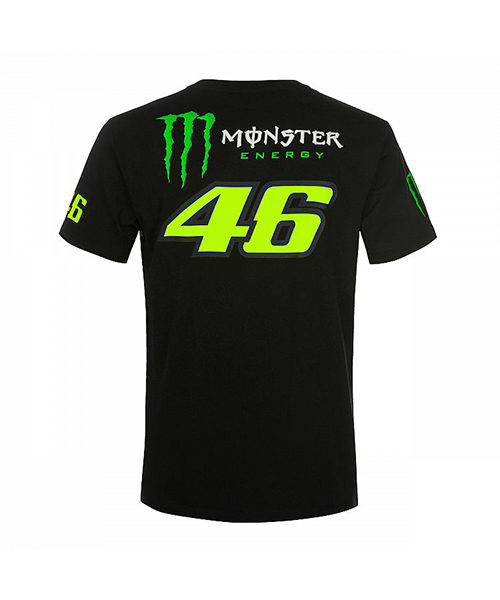 MOMTS358304001_MONSTER VR46 MONSTER 46 REPLICA T-SHIRT MENS_BV