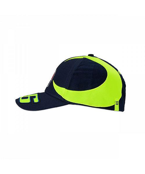 VRKCA352802_VR46 CLASSIC-SOLE E LUNA 19 CAP KID BLUE_LHS